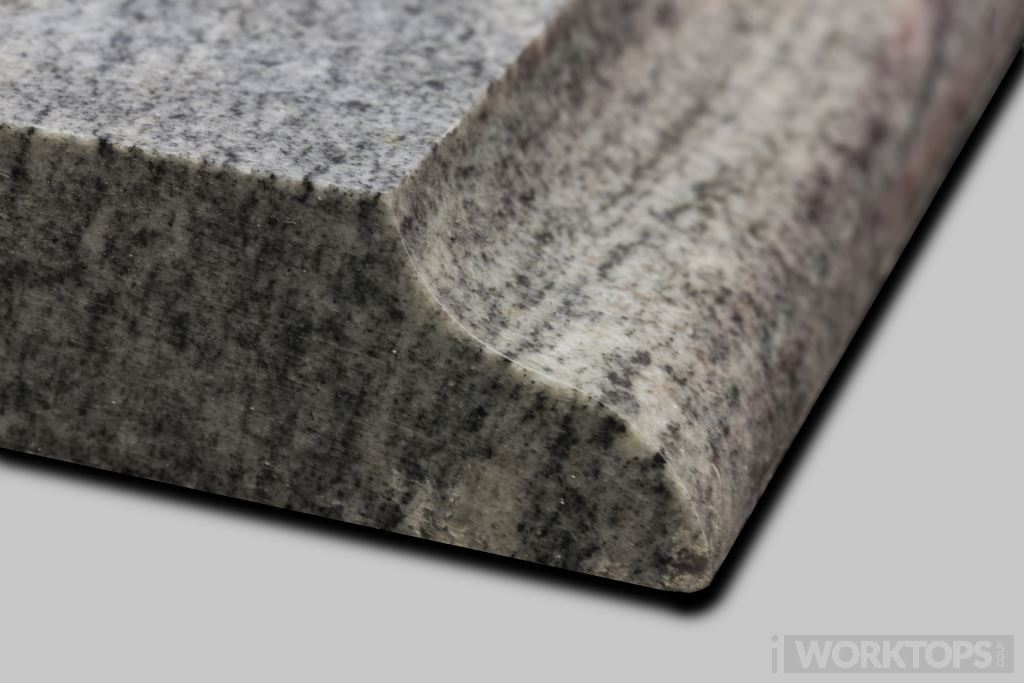 Edge F worktop finish - iWorktops