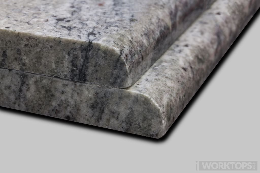 Edge J worktop finish - iWorktops