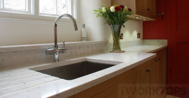 Sill higher with overhang - iWorktops