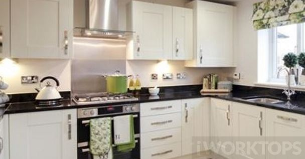 Splashback stainless steel with upstands - iWorktops